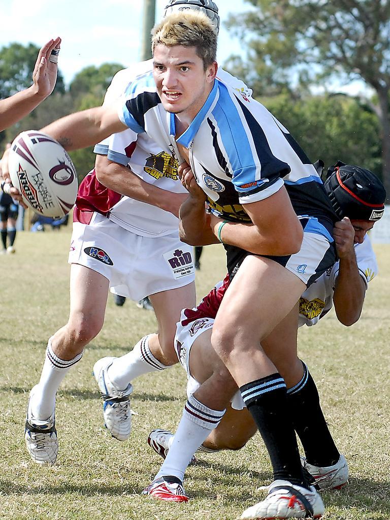 Matt Gillett helping Bribie Island to a win.
