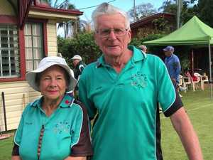 Visiting Croquet players