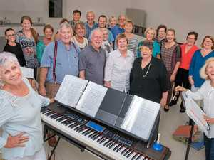Choir voices its support for drought-affected