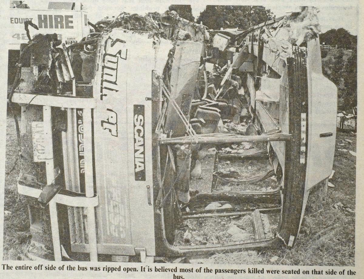 1989 Bus Crash, Pacific Highway, Cowper, Grafton 4