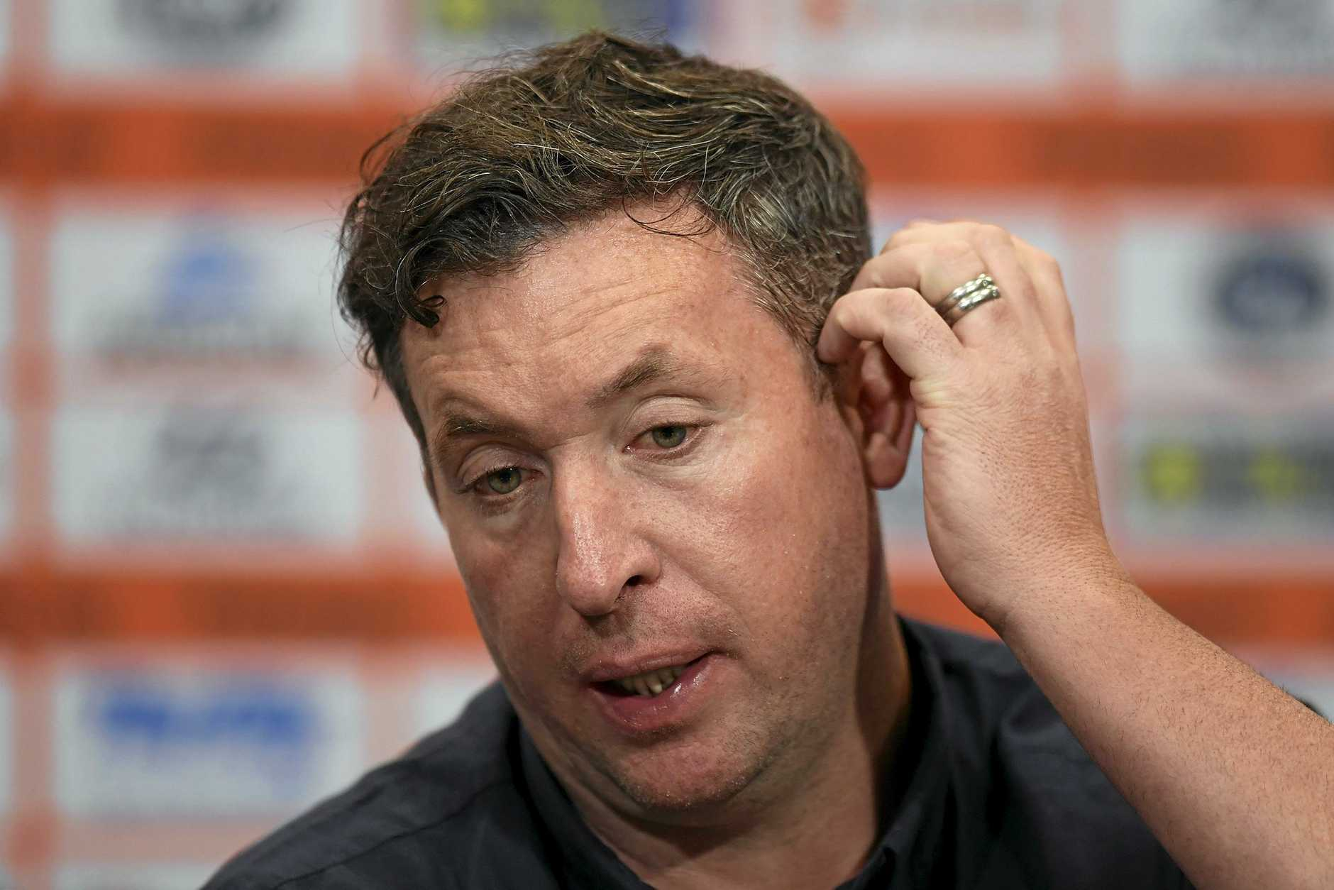 Robbie Fowler will be hoping for a win when the Roar take on the Wanderers.