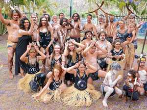Dancers use all 80,000 years of culture for inspiration