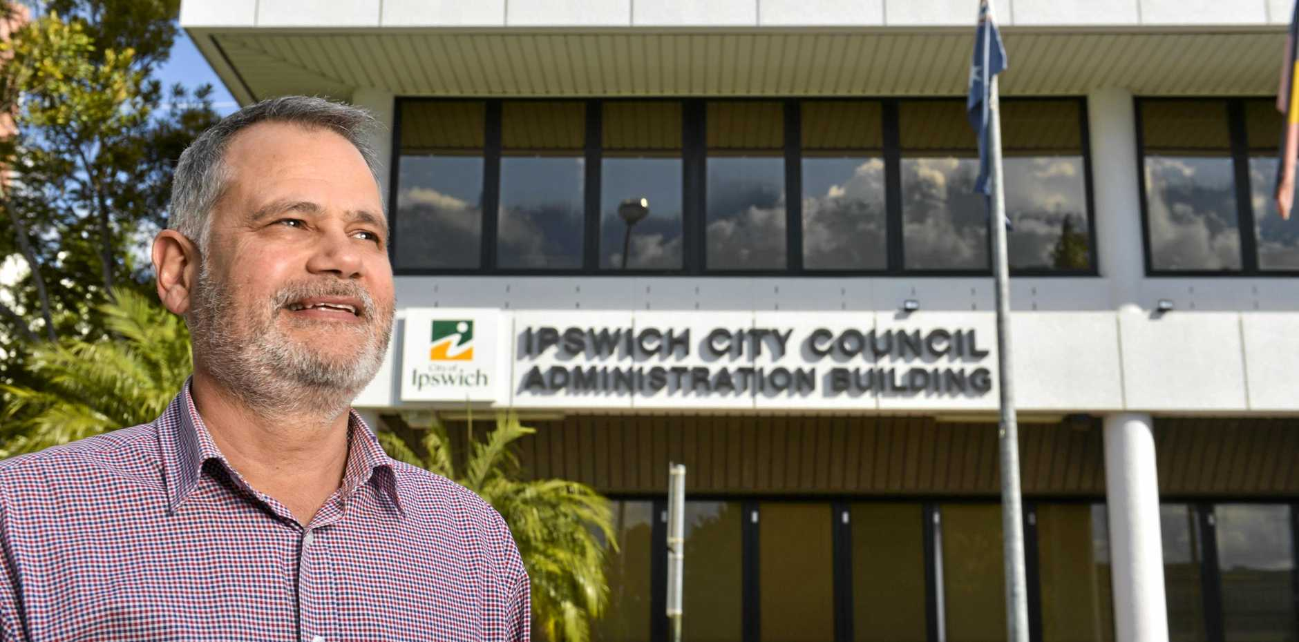 COSTS REVEALED: Ipswich City Council Administrator Greg Chemello.