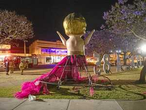 SUPPORT: Community rallies for festival after doll vandalism