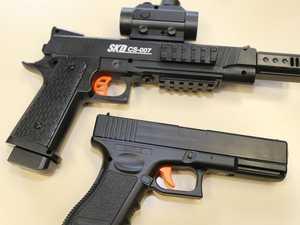 'Gangster fantasy land': Man jailed after gel blaster shooting