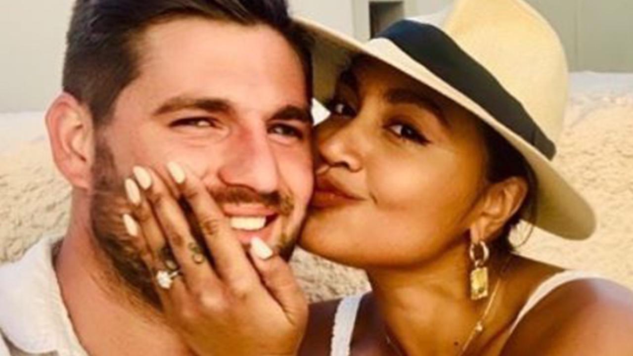 Jessica Mauboy recently got engaged to her boyfriend of 10 years, Themeli Magripilis.