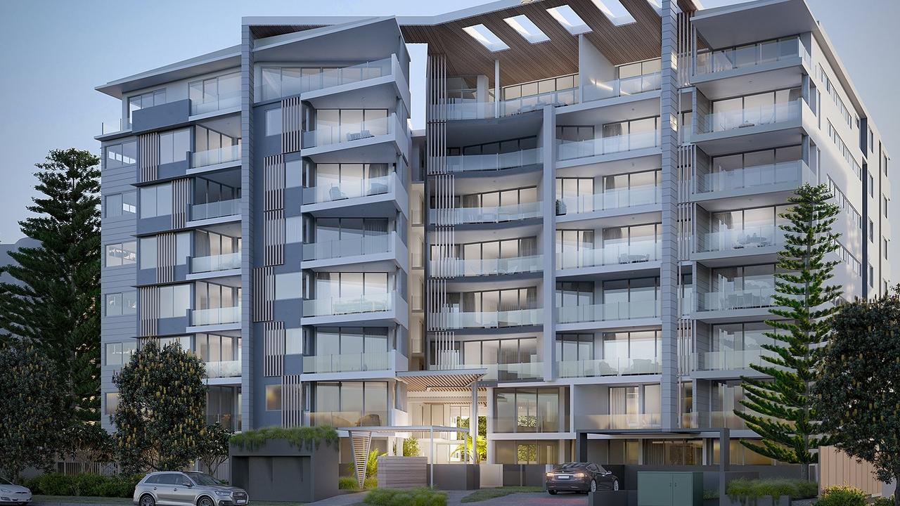 Beach Life Alex will include apartments, sky homes and penthouses ranging from $580,000 to $2.49 million.