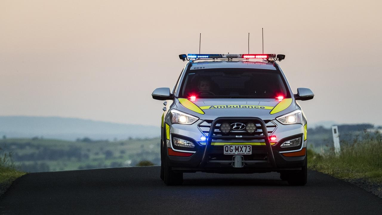 A woman and a girl in her teens were injured in a two-vehicle crash on Macadamia Dr at Maleny early this morning. Photo: File