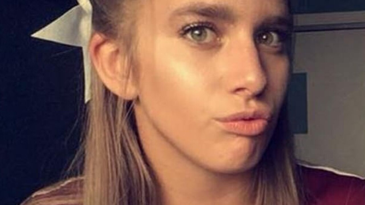 Cheerleader murdered for hiding baby. Picture: Supplied