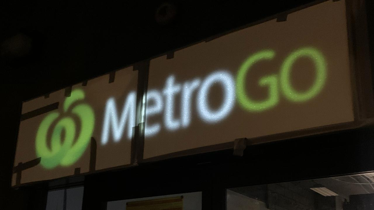 Woolworths' new concept Metro Go store in Surry Hills, Sydney. Picture: Benedict Brook