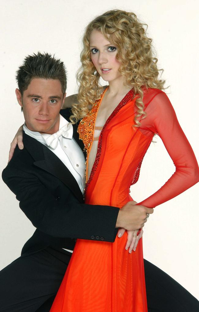 Nikki Webster was also on Dancing with the Stars with Sasha Farber.