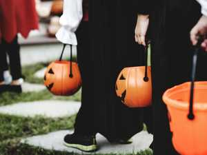 Kid hospitalised after trick or treating