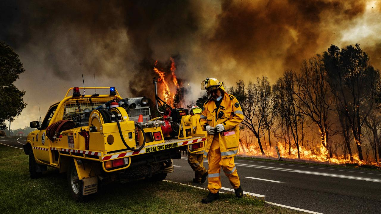The devastating blaze last week forced about 100 homes to be evacuated for the second time in six weeks. Now, investigators say they've ruled out natural causes. Photo: Lachie Millard
