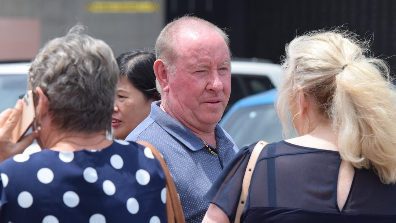The brother of Nambour man Bruce Saunders outside Maroochydore court. Photo: Craig Warhurst