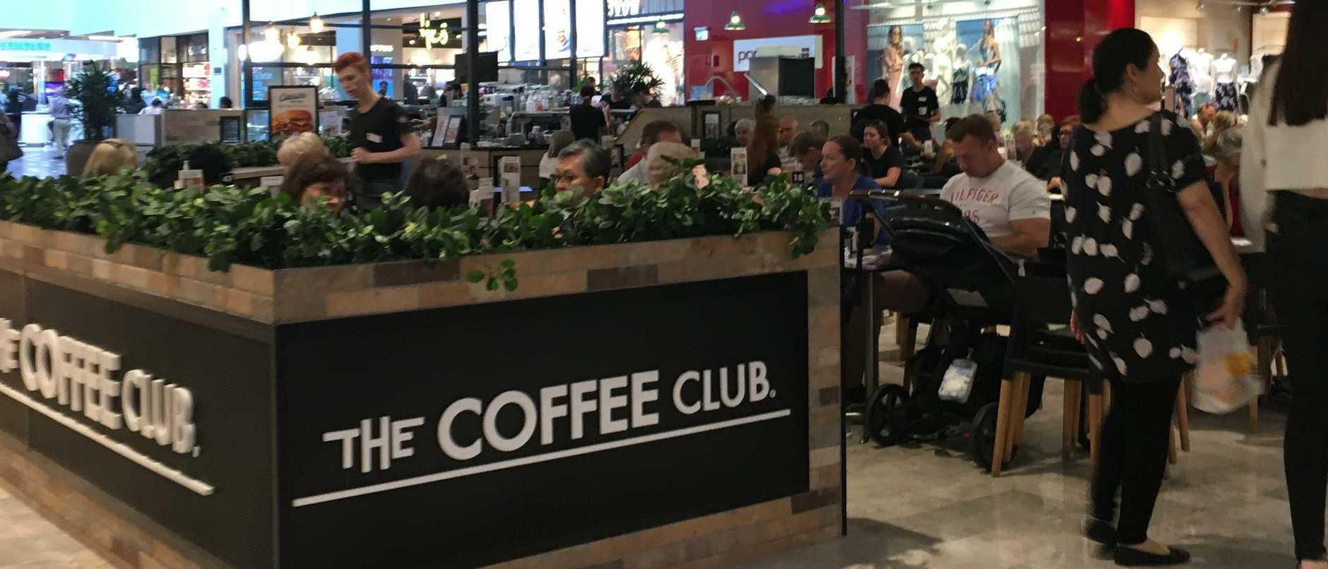 Coffee Club at Chermisde, alongside major competitor, Gloria Jeans were the most expensive outlets to buy a large coffee. Picture: The Courier-Mail