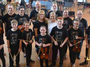 Young orchestra fills musical need in community