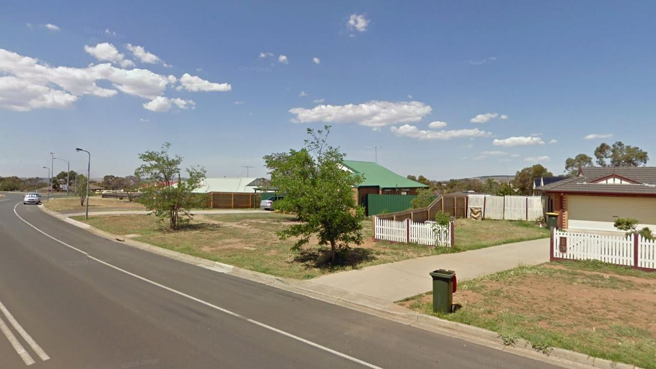 Hallets Way in Bacchus Marsh near where the incident occurred. Picture: Google Maps.