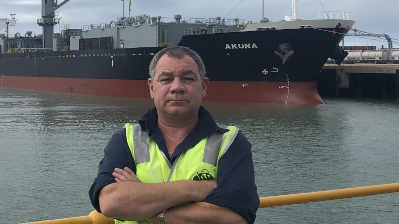 Maritime Union of Australia Queensland Branch Assistant Secretary Paul Gallagher.