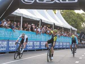 Groves caps big year with criterium triumph at Noosa