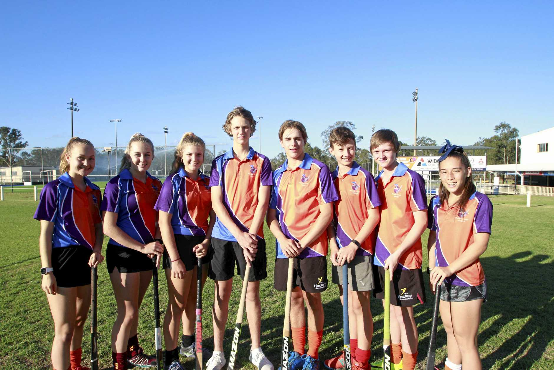 NEW CHAMPIONS: Fraser Coast under-15 players have been recently selected for Queensland squad representative teams - Maddy Kenny, Leila Steffen, Taryn Knight, Ben Redmond, Ryan Wilcox, Darcy Rumpton, Daniel Mooney and Annelyse Tevant had successful state championships.
