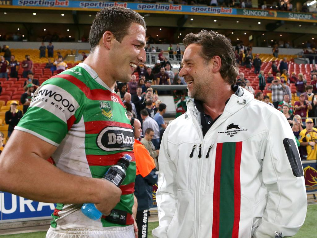Russell Crowe gave Burgess a chance nobody else was willing to offer.