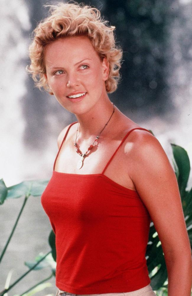 Charlize Theron in 1998 film Mighty Joe Young. Picture: Supplied.