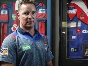 New Knights coach puts players on notice