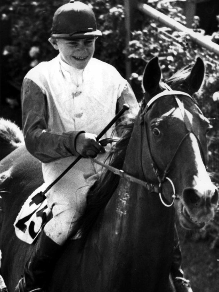 Ray Neville won the Melbourne Cup age 16 on racehorse Rimfire in 1948.