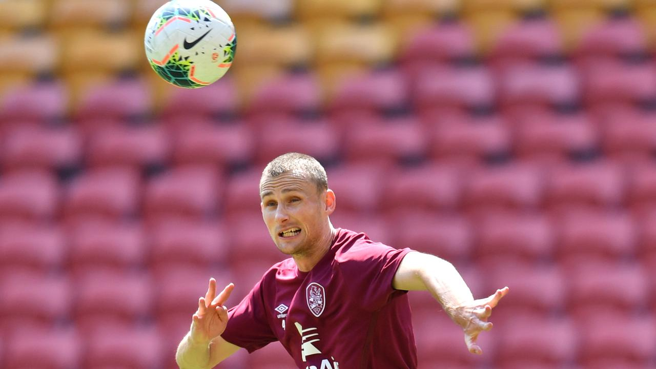 Daniel Bowles has staked a claim for a permanent spot in Brisbane's backline. Picture: AAP