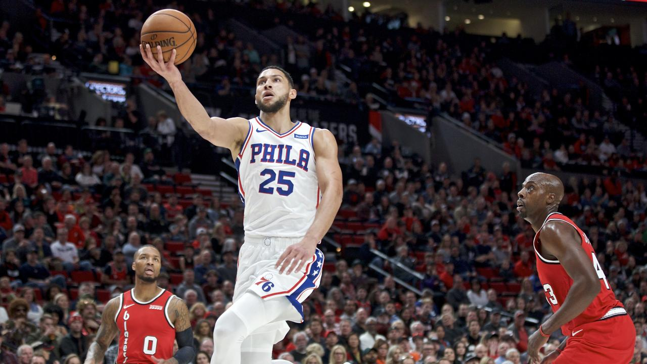 Philadelphia 76ers guard Ben Simmons has stood up for the Sixers.