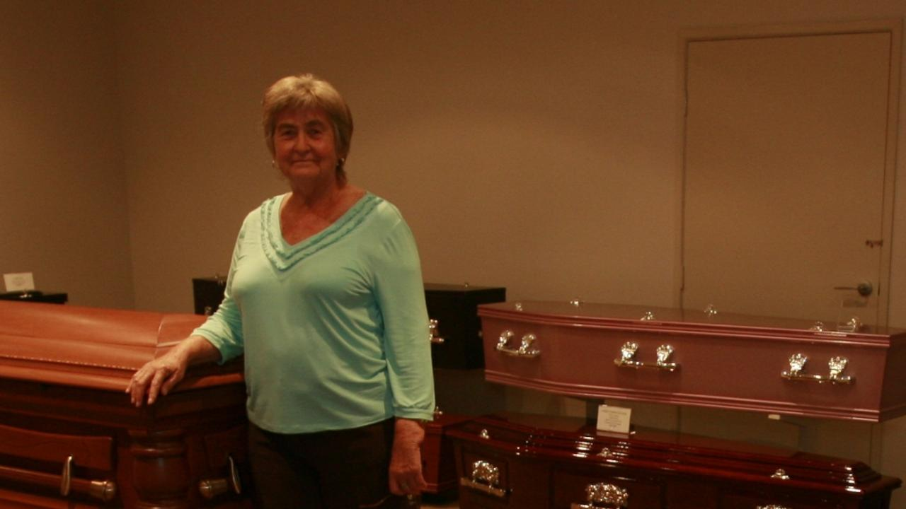 Gregson and Weight Funeral Directors owner Jeanette Gregson in 2009. Photo: Barry Leddicoat.