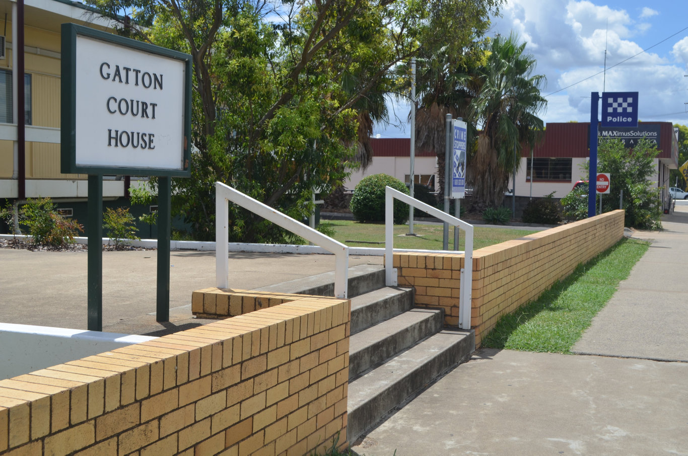 The Gatton Court House and Police Station. Photo Amy Lyne / Gatton Star