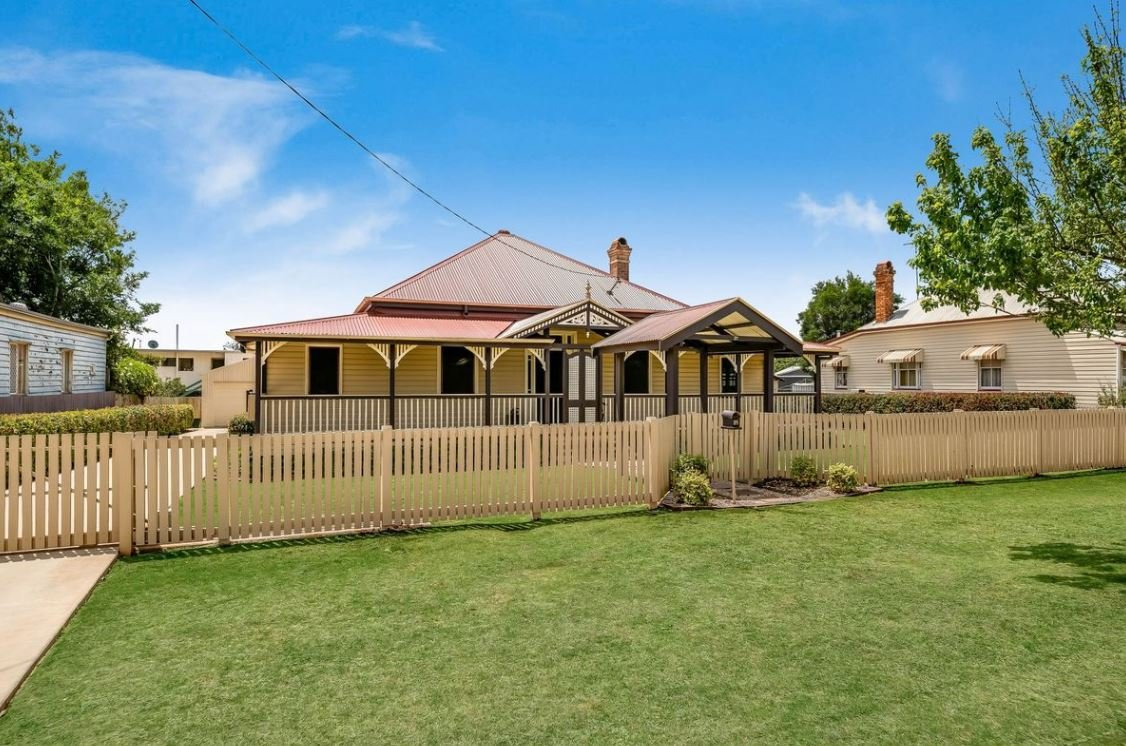21 Eton St, East Toowoomba, is for sale.