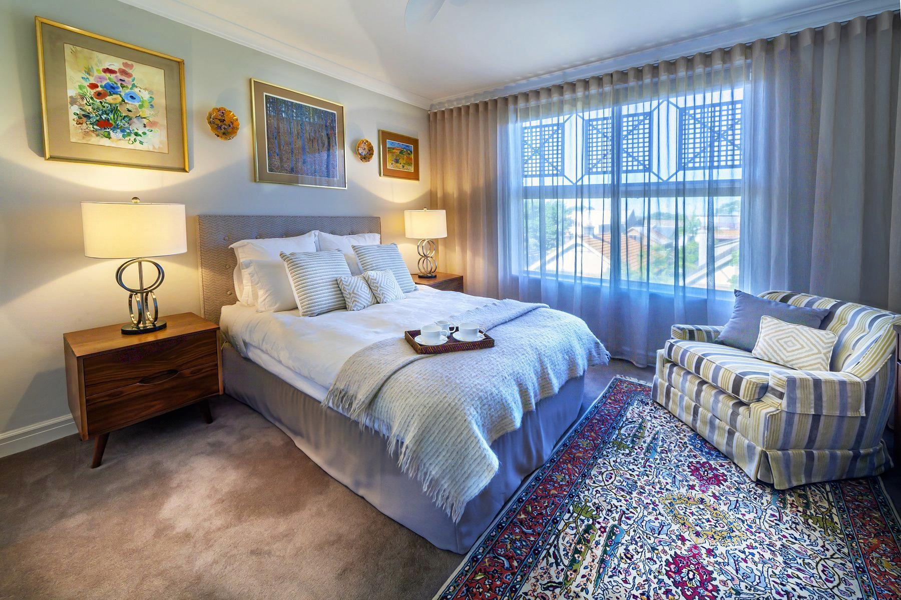 Residential in Mosman Master Bedroom by Meli Studio.