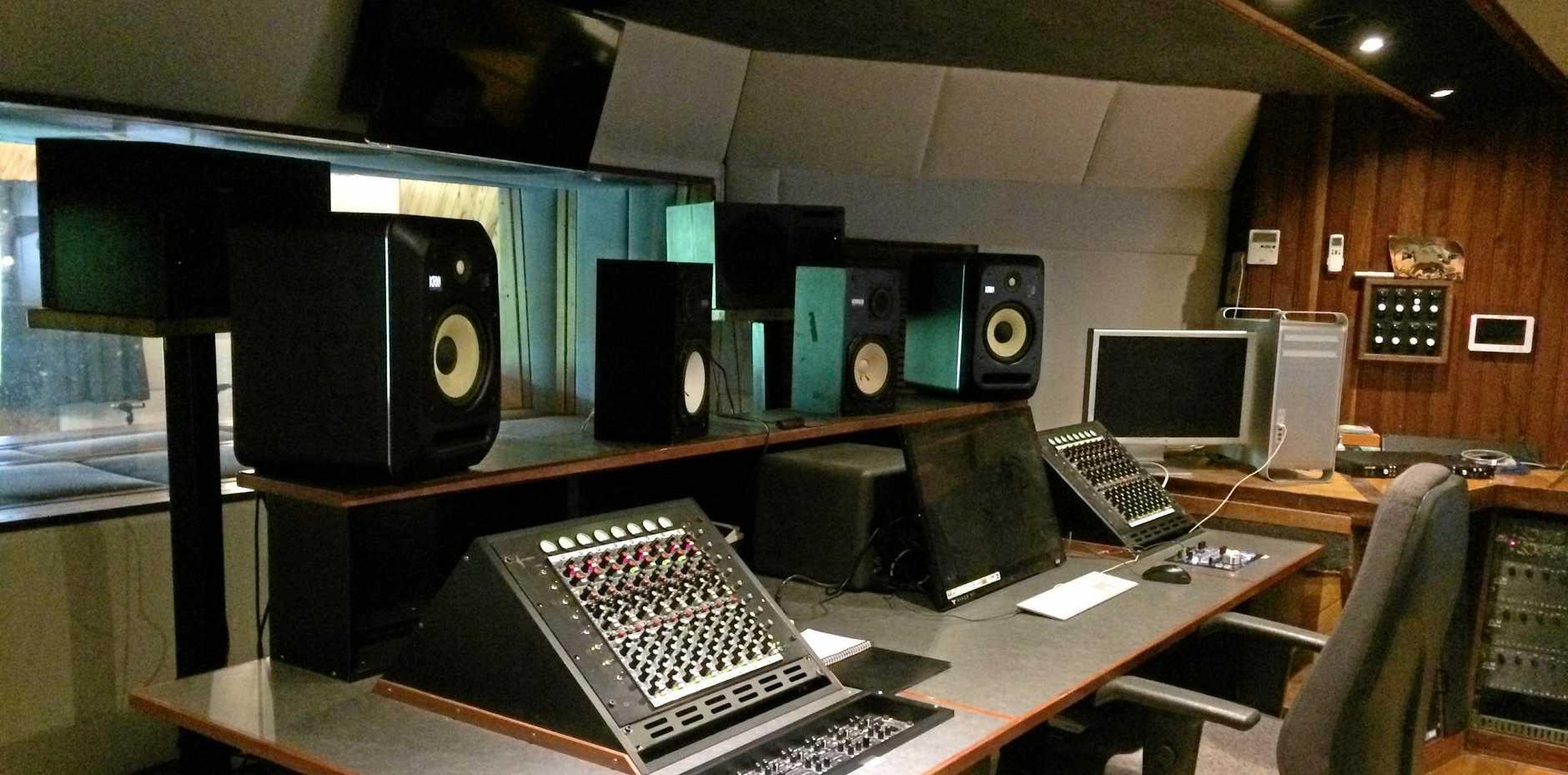 The iconic RockingHorse music studio.