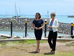 Frecklington wants drones to monitor sharks in Whitsundays
