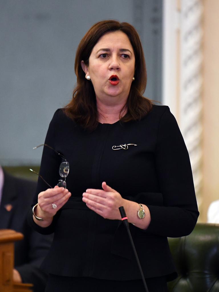 Queensland Premier Annastacia Palaszczuk. Picture: AAP Image/Dan Peled)