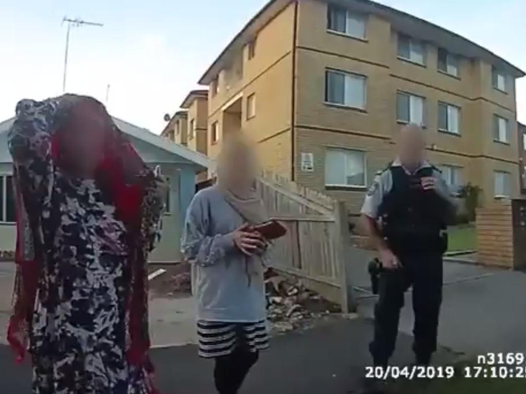 The video showing the arrest.