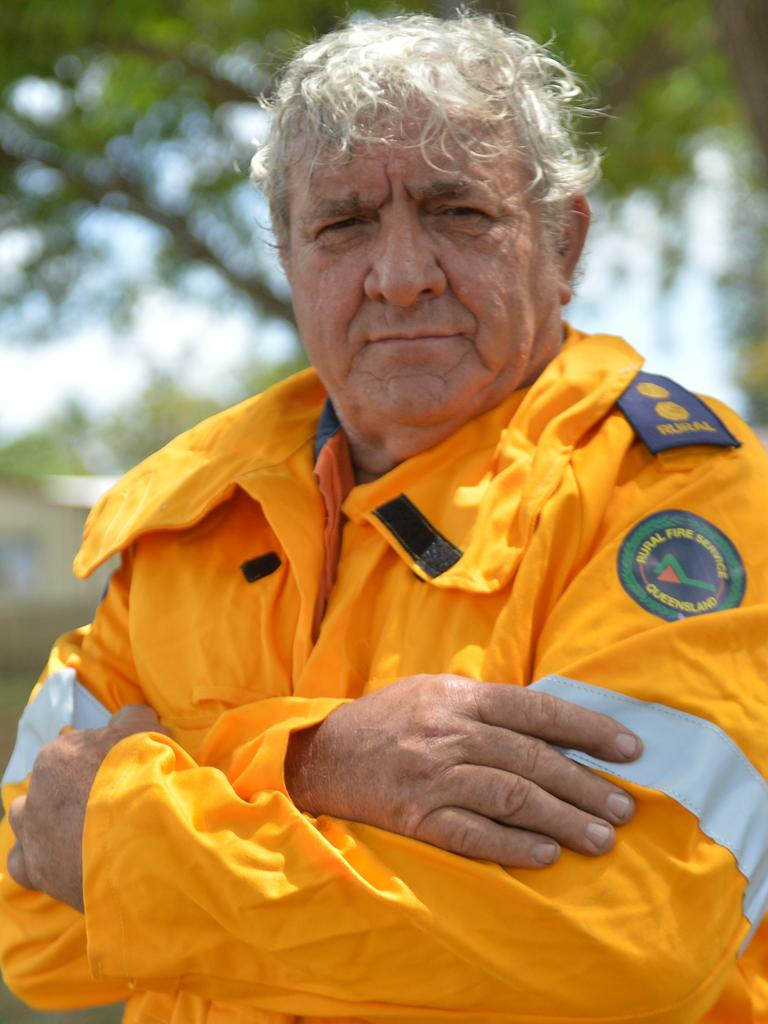 Rural Fire Service Blackwood first officer Wally Giumelli said a ruling that volunteers must apply for blue cards was