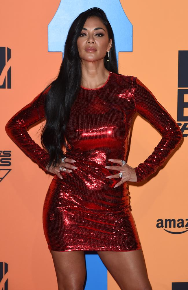 SEVILLE, SPAIN - NOVEMBER 03: Nicole Scherzinger attends the MTV EMAs 2019 at FIBES Conference and Exhibition Centre on November 03, 2019 in Seville, Spain. (Photo by Kate Green/Getty Images for MTV)