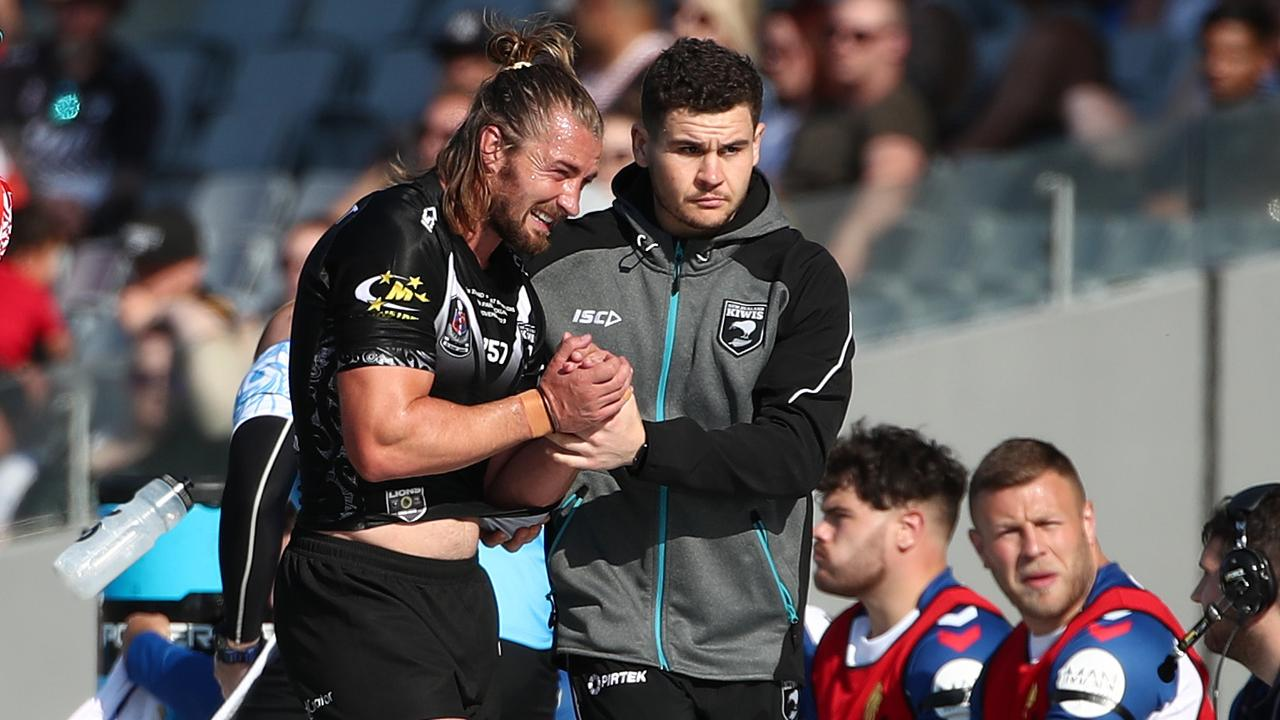 The club has lost Kieran Foran to a shoulder injury. Picture: Fiona Goodall/Getty