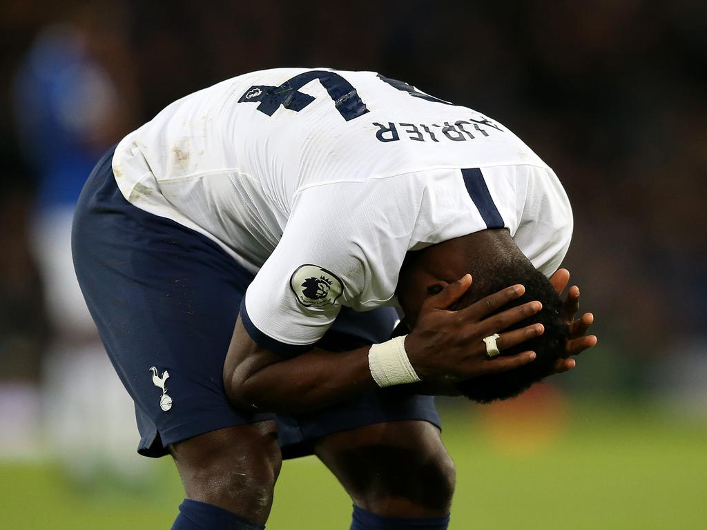 Serge Aurier can't believe what he's seen. (Photo by Jan Kruger/Getty Images)