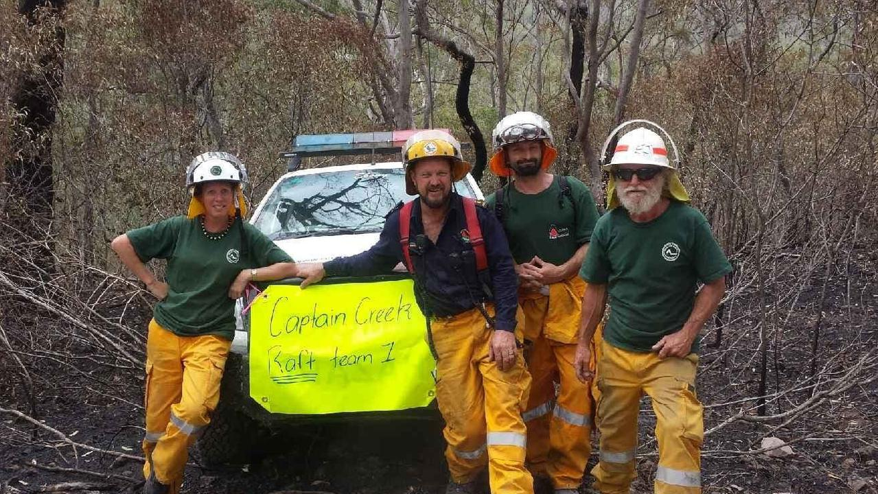 The Captain Creek Rural Fire Brigade was the first in Queensland to establish Remote Area Firefighting Team to control the Captain Creek blaze early December.