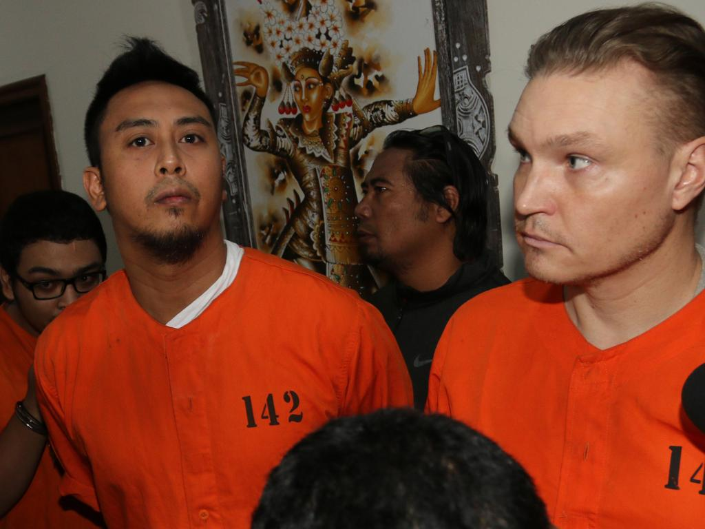 William Cabantog and David Van Iersel both say they are drug addicts. Picture: Lukman S. Bintoro