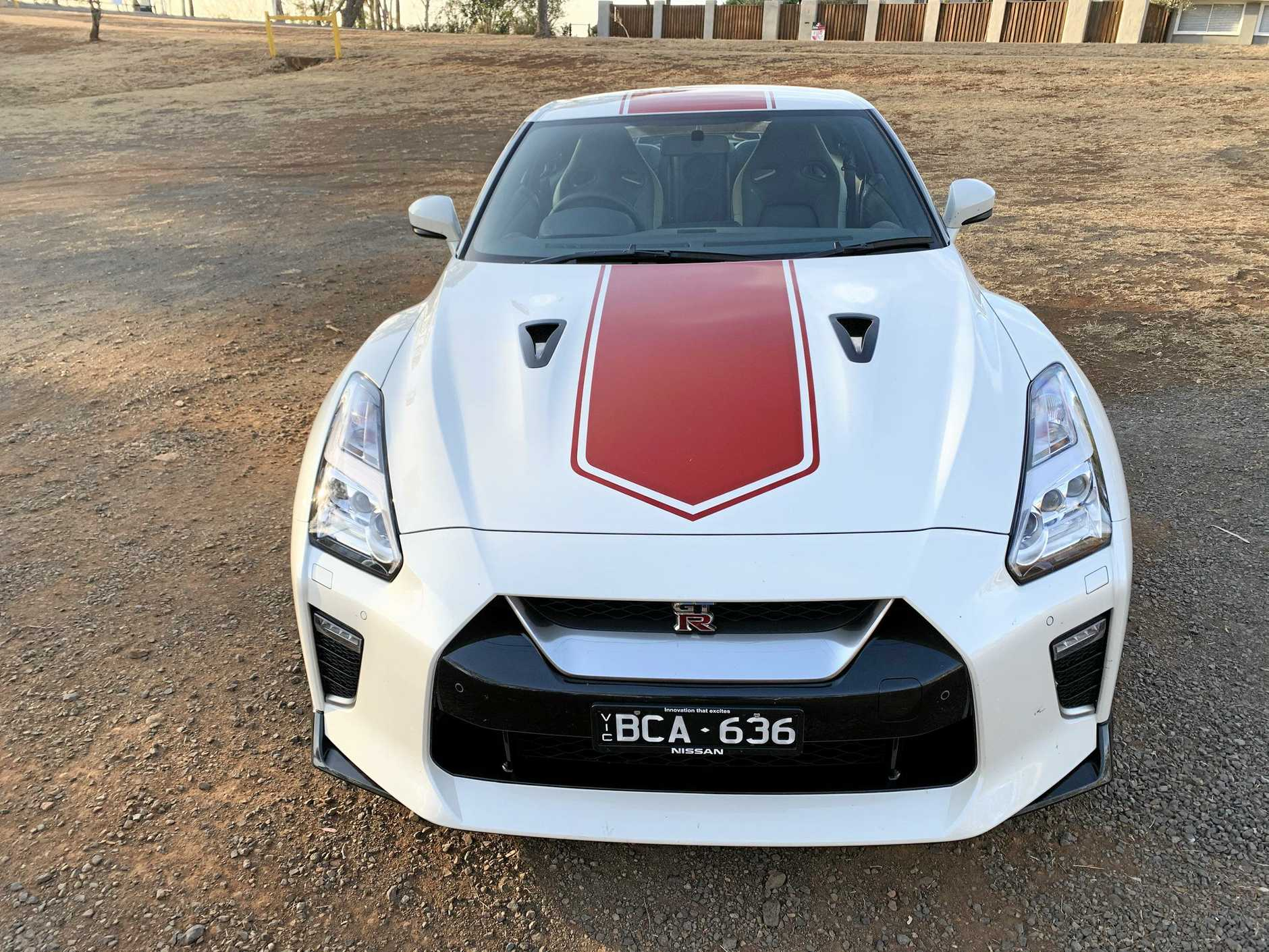 The 50 Anniversary edition of the Nissan GT-R.