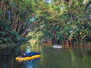 On a magic river ride in tropical north Queensland