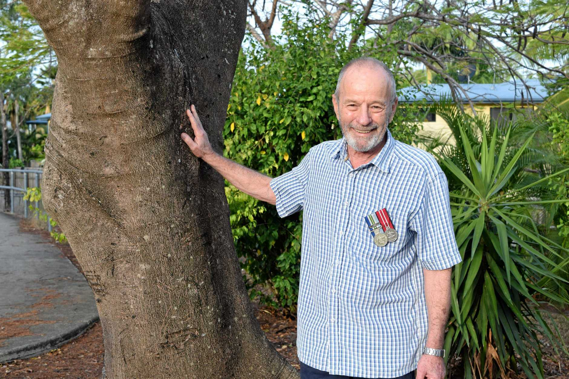 Cannonvale veteran Martin Hart served in the Australian Army from 1962 to 1968 as a topographic surveyor.
