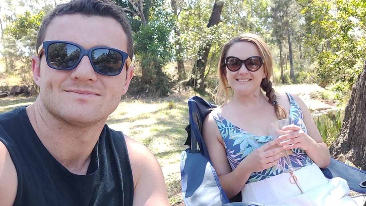Townsville couple Simon Walker and Sherei Anderson have been found dead at Kearneys Falls at Goldsborough after going hiking. Picture: Facebook