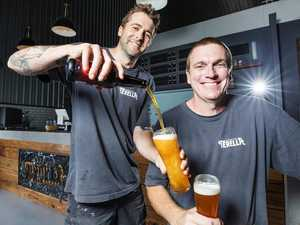Moos, brews on tap at Aussie first farm-style brewery
