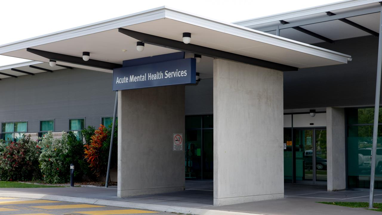 The Acute Mental Health Unit at the Townsville Hospital. Photo: Cameron Laird.